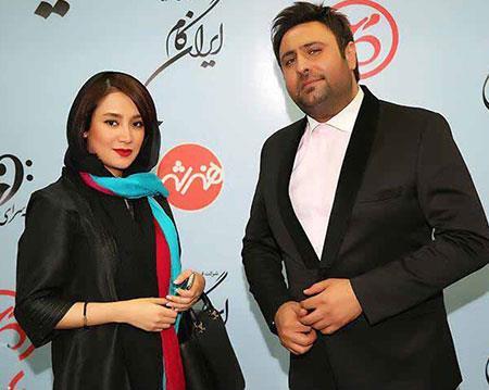 بهاره افشاری در کنار محمد علیزاده